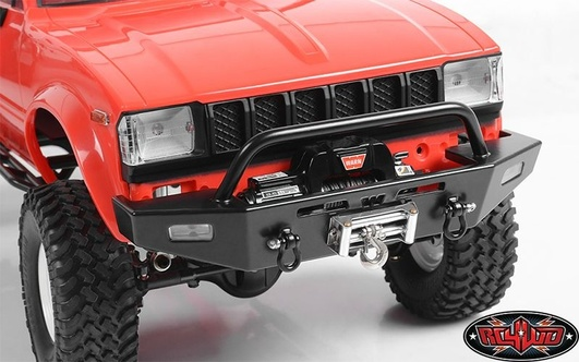 RC4WD Warn Rock Crawler Front Winch Bumper for Trail Finder