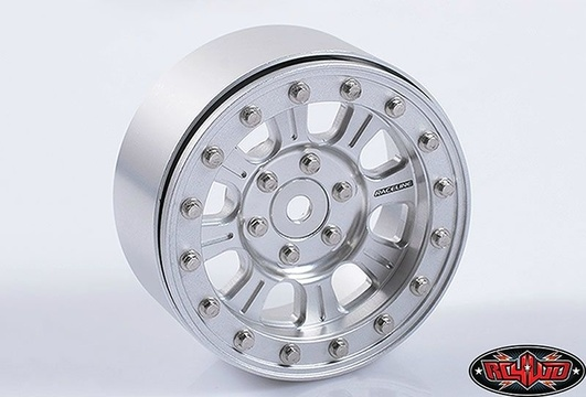 Raceline Monster 2.2 Beadlock Wheels (Silver)