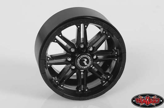 Raceline Octane 2.2 Single Beadlock Wheels (Black)