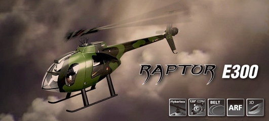 Raptor E300 MD Flybarless ARTF