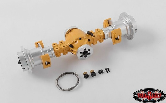Rear Axle Assembly for Earth Mover