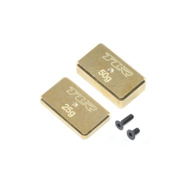 Rear Brass Plate Set: 22 4.0