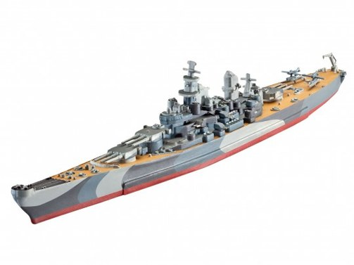Revell Model Set Battleship U.S.S. Miss