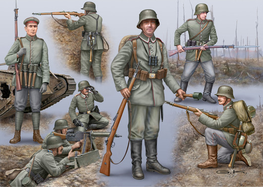 Revell WWI German/British/French Infant