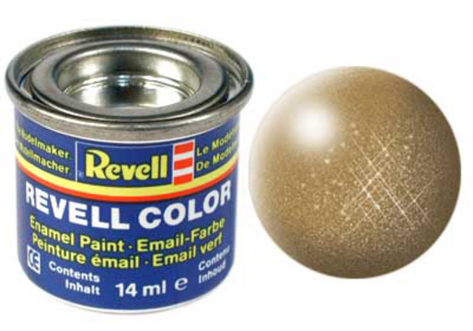 Revell messing, metallic 14 ml-Dose, Farbcode 92