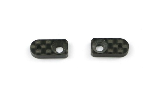 Roll damper support 8mm carbon 4X (2)
