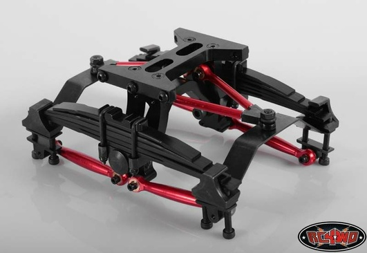 Scale Rear Suspension System for Tamiya 1/14 Semi Trucks (Fu