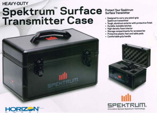 Senderkoffer Spektrum Surface