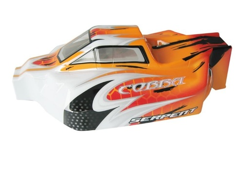 Serpent Karosserie 1/8 Offroad Avenger orange