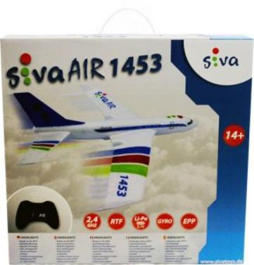 Siva Air 1453 2.4 GHz RTF rot