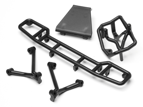 Skid Plate / Rammer Set hinten (Mini-Trophy)