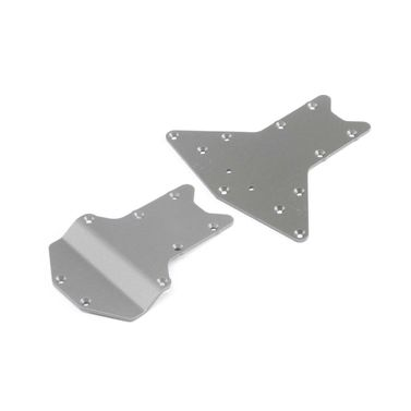 Skid Plate Set,Front/Rear: LST 3XL-E