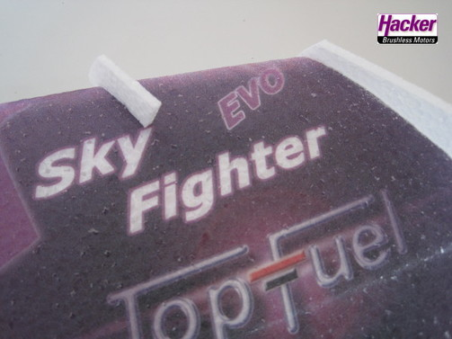 Sky Fighter EVO 550 mm - Team Hacker Design