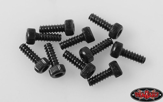 Socket Head Self TapStiftg Screws M2 X 6mm (Black)