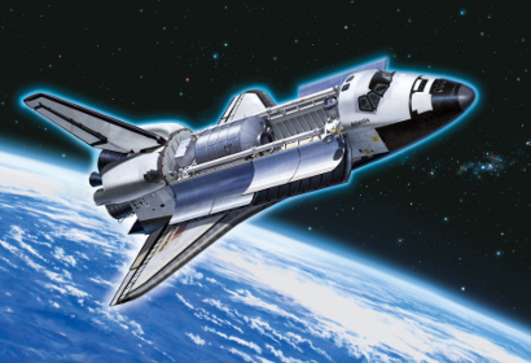 Space Shuttle Atlantis 1:100