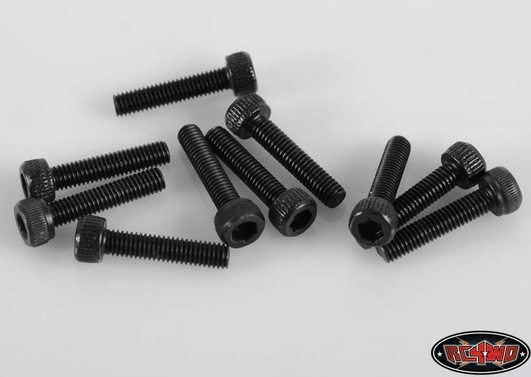 Steel Socket Head Cap Screws M3 x 14mm (10)