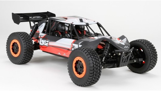 TEN-SCBE 1/10 4WD SCB RTR mit AVC-Technologie Orange