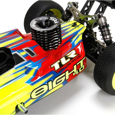 TLR 8IGHT 4.0 Race Kit: 1/8 4WD Nitro Buggy