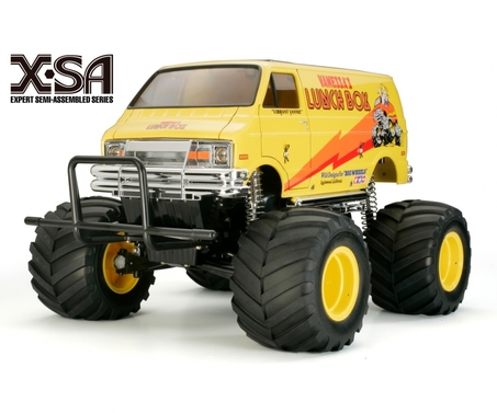 Tamiya Lunch Box X-SA Elektro Brushed Monster Truck 4WD 1:12 ARR gelb