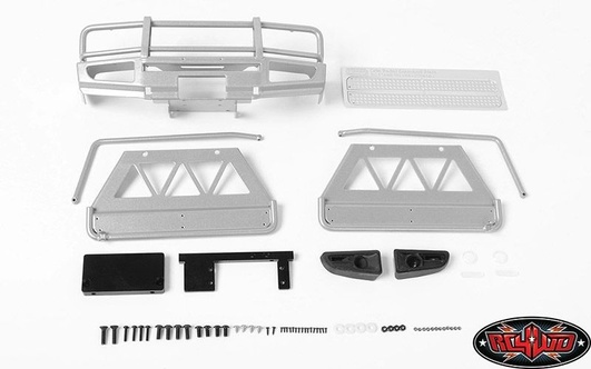 Trifecta Front Bumper, Sliders and Side Bars for Land Cruise