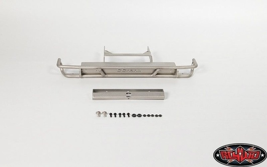 Tube Rear Bumper for Axial SCX10 II XJ (Silver)