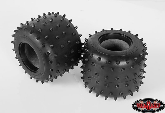 Twisted Monster Truck Spiked Tire for Tamiya Clod