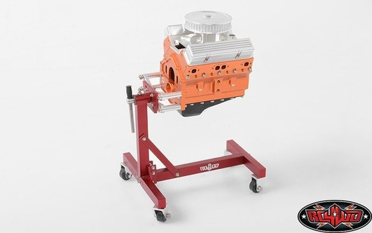 V8 Scale Engine Stand