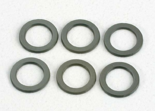 WASHERS, TEFLON 4x6x.5mm
