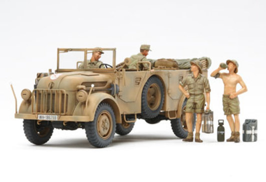 WWII Dt. Steyr 1500A/01 Afrika (4) 1:35