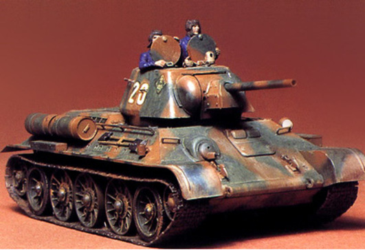 WWII Rus.KPz T-34/76 1942/43 (3) 1:35