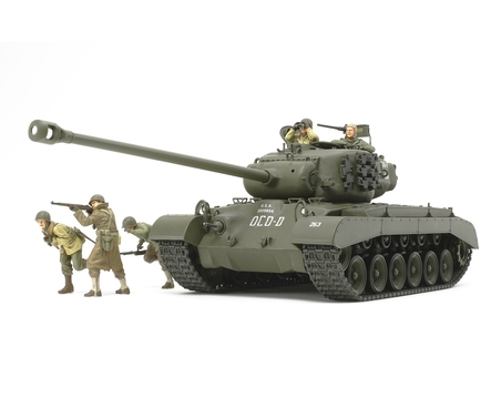 WWII US Panzer T26E4 Super Pershing 1:35