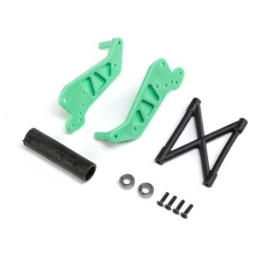 Wheelie Bar Set Green: LMT