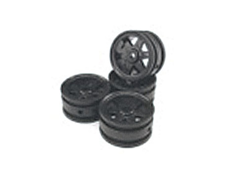 Wheels Rim 6-black 1:35 scaler