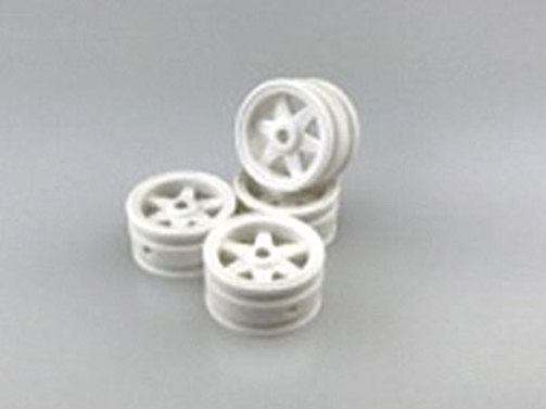 Wheels Rim 6-white 1:35 scaler