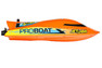 "PROBOAT Jet Jam 12"" Pool Racer RTR selbstaufrichtend, orange"