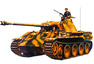 WWII Dt. SdKfz.171 Panther A (2) 1:35