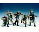 WWII Fig.-Set Dt. Frontsoldaten (5) 1:35