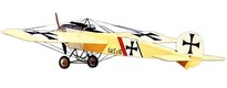 Fokker E-I Balsa USA 1524 mm