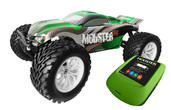 MODSTER V4.1 Brushed Monster Truck RTR 4WD Top Combo