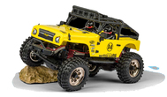 Mountain Warrior Sport 2.4G 100% RTR Yellow 1:12