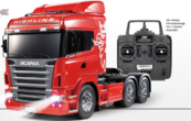 Scania R620 Red Full Option Finished 1:14