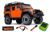 TRAXXAS TRX-4 Land Rover orange Limited Adventure-Edition 1/10 Crawler 2.4GHz Combo