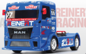 Team Reinert Race Truck MAN TGS TT-01E Kit 1:14