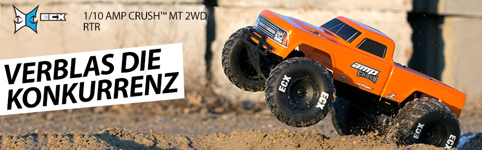 1/10 AMP Crush MT 2WD Brushed RTR