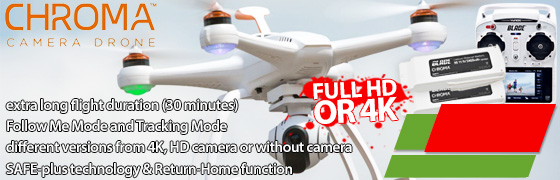 Camera drone Blade Chroma || incl. Full HD or 4K camera