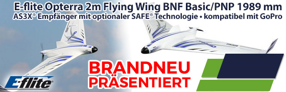 E-flite Opterra 2m Flying Wing BNF Basic/PNP