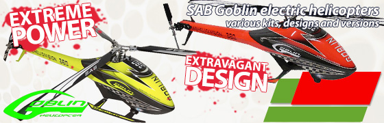 SAB Goblin Electric Helicopters